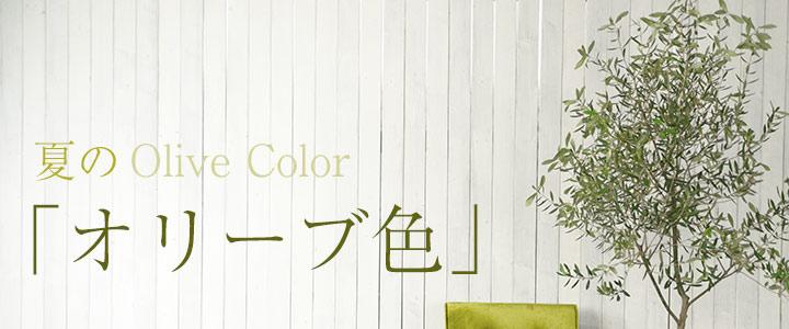 夏の「オリーブ色」