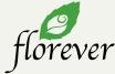 Florever プリザーブドフラワー ローズロゴ