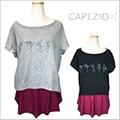 【カペジオ】11255WクロップドTシャツ