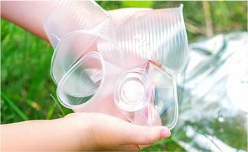 環境に配慮したプラスチック素材