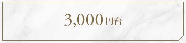 3,000円台