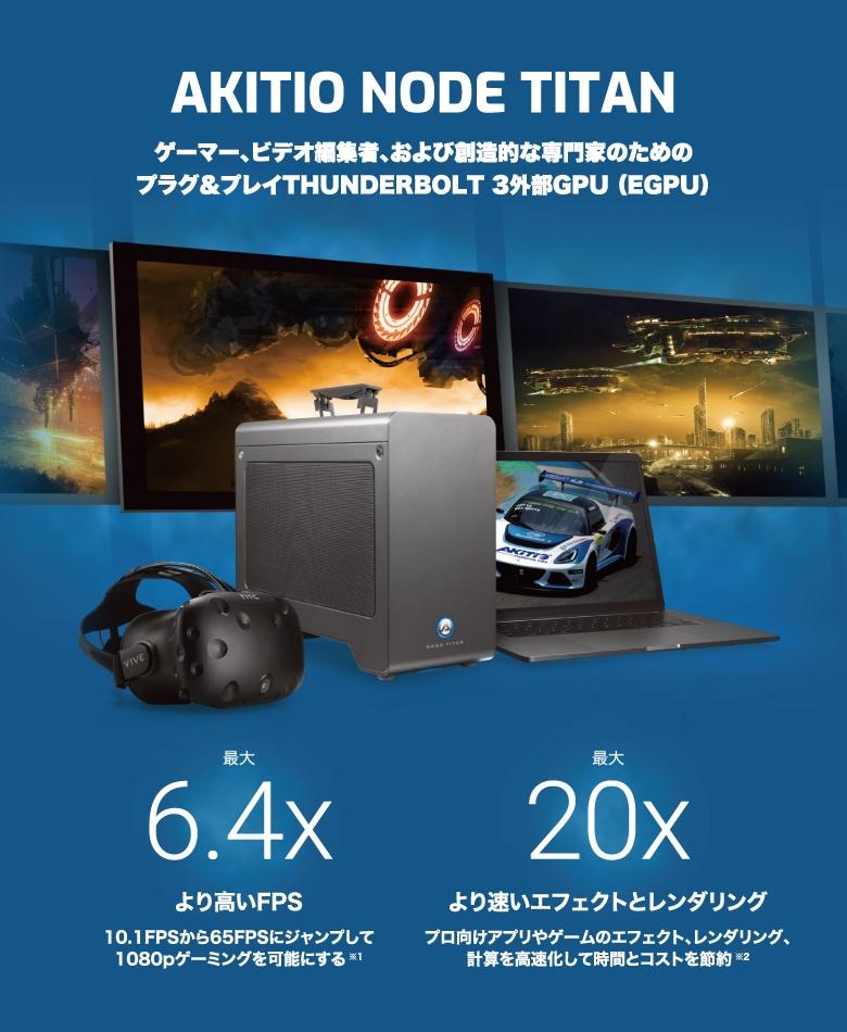 AKiTiO Node Titan 説明1