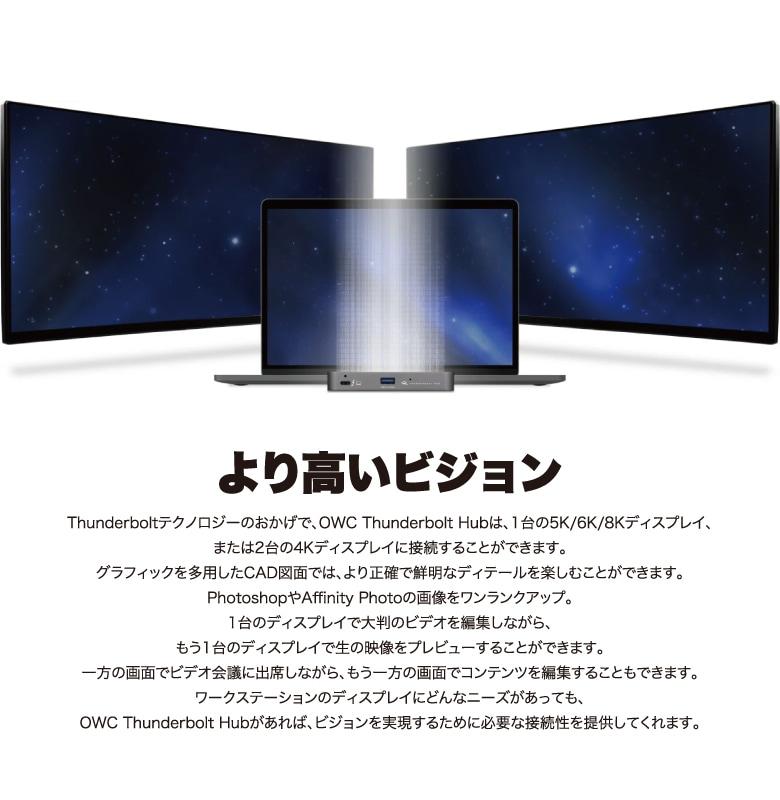 OWC Thunderbolt Hub 説明5