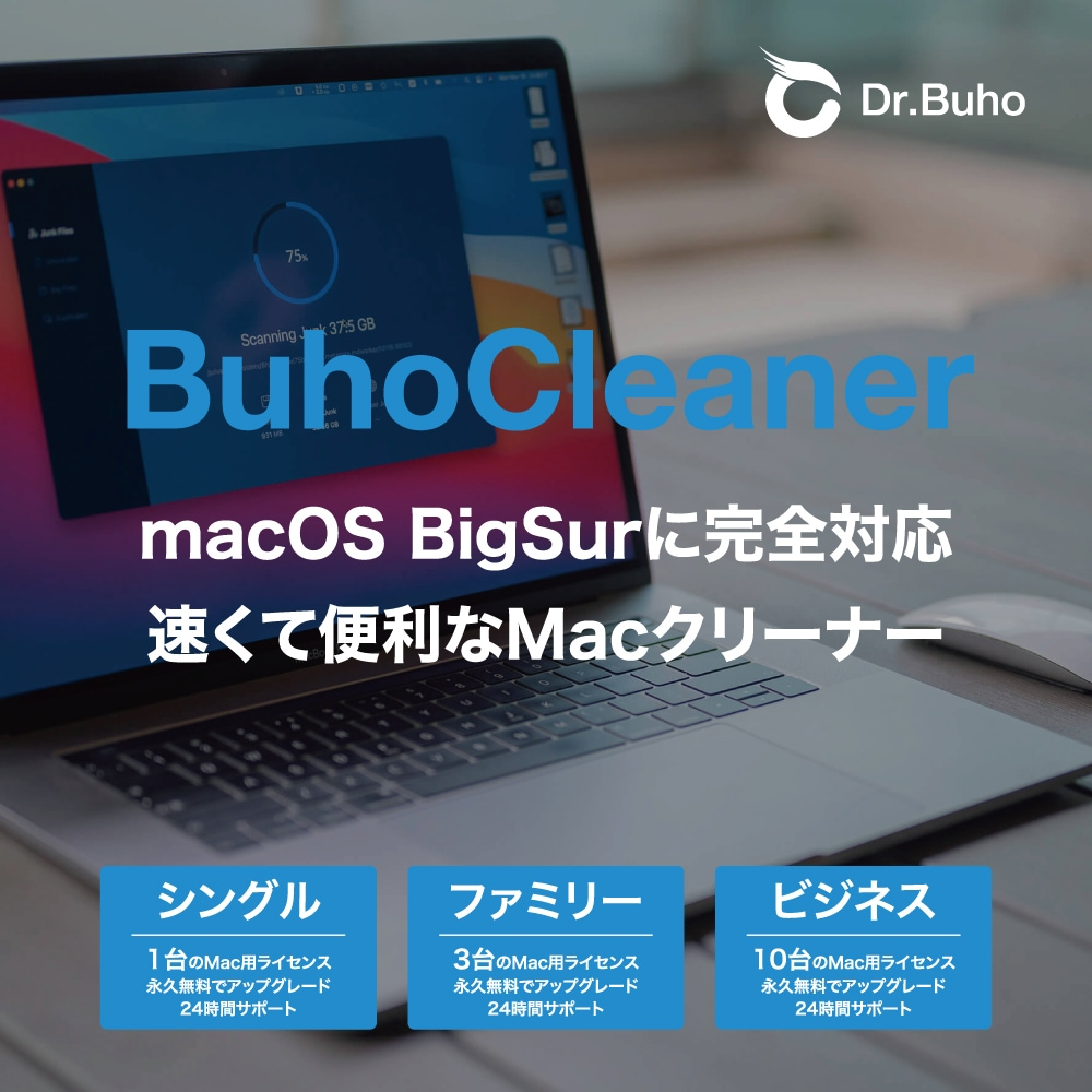 Dr.Buho BuhoCleaner 説明1