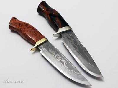 西田刃物工房 大祐作 白1号本割込 多層鋼ナイフ