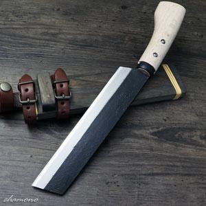 日野浦刃物工房 味方屋作 山鉈7寸(210)片刃