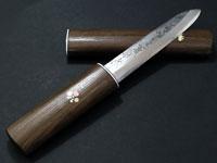 池内刃物製「雲流多層鋼 マキリ小刀」