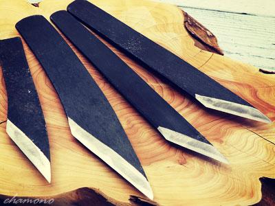 後藤益美作 関包平(かねひら)青鋼切出し小刀