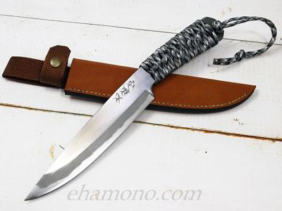 西田刃物工房 大祐作 白一号本割込ナイフ180