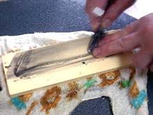 日本剃刀の研ぎ方