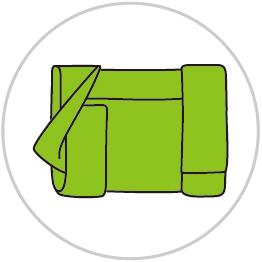 ブックカバーの包み方4
