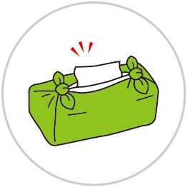 ボックスティッシュの包み方5