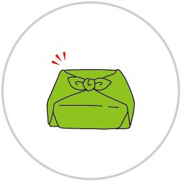 風呂敷の基本の包み方5
