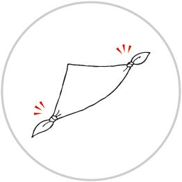 リーフバックの包み方3