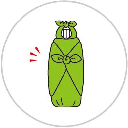 ペットボトルの包み方5