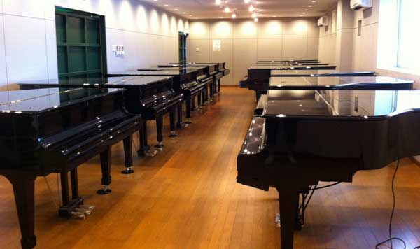 ジャパンピアノサービス試弾室
