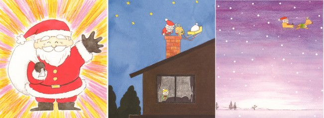 オリジナル絵本 ハッピークリスマス