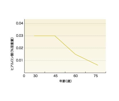 幸&楽 ヒアルロン酸グラフ