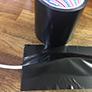 仮設コード固定用養生テープ