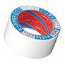 光洋化学 011 エースクロス 片面 PEクロス系防水テープ 白