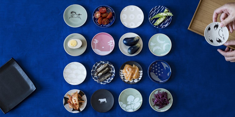 色とりどりの豆皿
