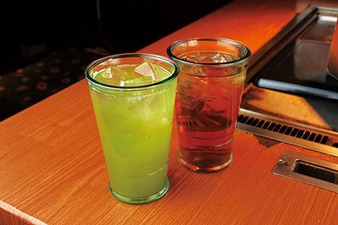 藤枝の緑茶・和紅茶ドリンク