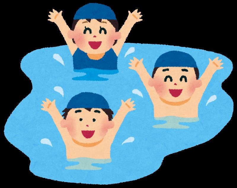 泳ぐイメージ