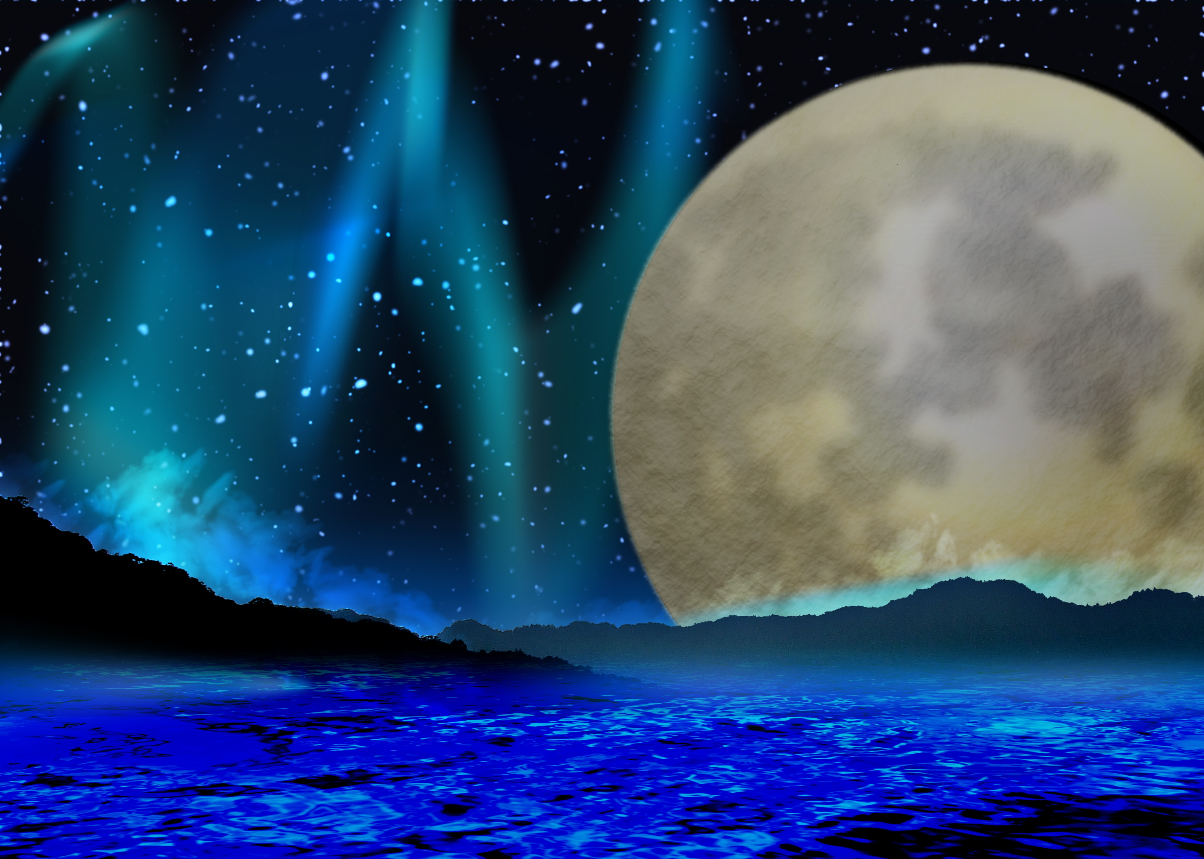満月の浄化セッション
