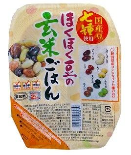 ほくほく豆の玄米ごはん