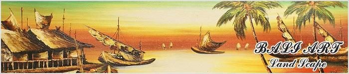 バリ絵画 風景画