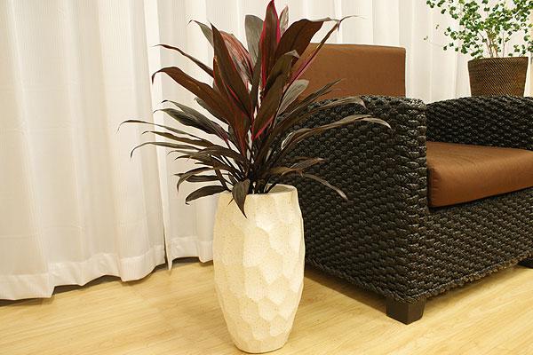 植木鉢 おしゃれ テラゾ 大理石