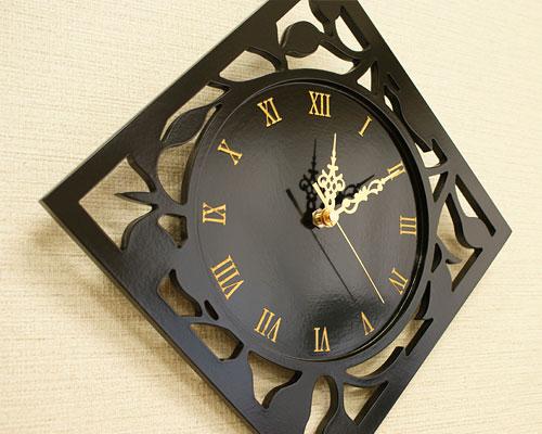 アジアン 壁掛け時計 モダン