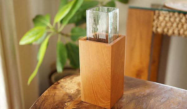 花瓶 一輪挿し ガラス