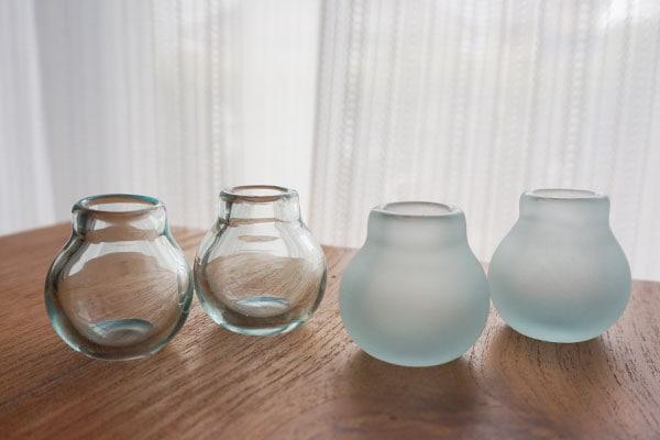 アジアン 雑貨 バリガラス フラワーベース
