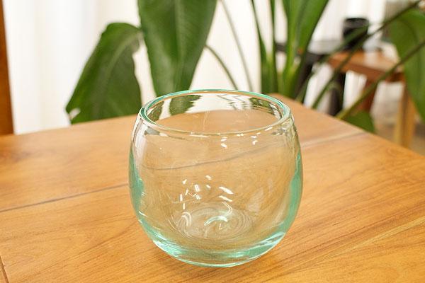 アジアン バリ ガラス フラワーベース