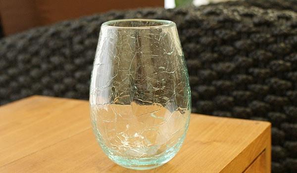バリ ガラス 花瓶 おしゃれ