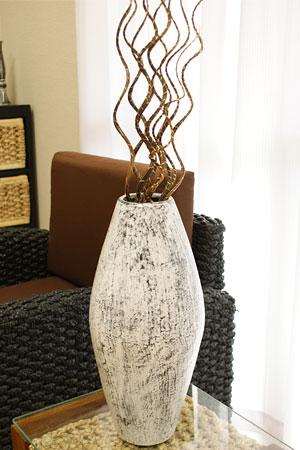 シャビーシック アンティーク フラワーベース 花瓶 大きい