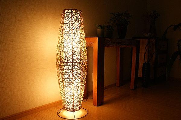 フロアランプ アジアン 照明 大型