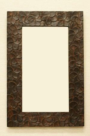 アジアン雑貨 壁掛け 鏡
