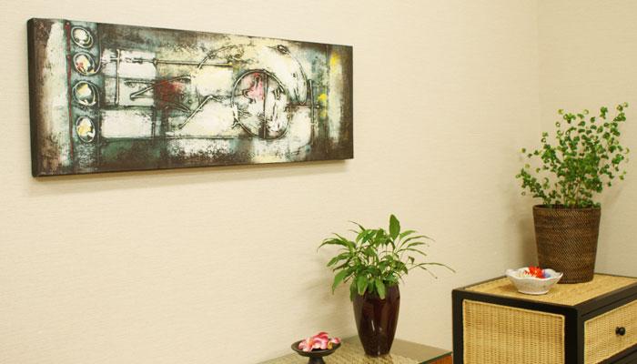 バリ 絵画 壁掛け アート