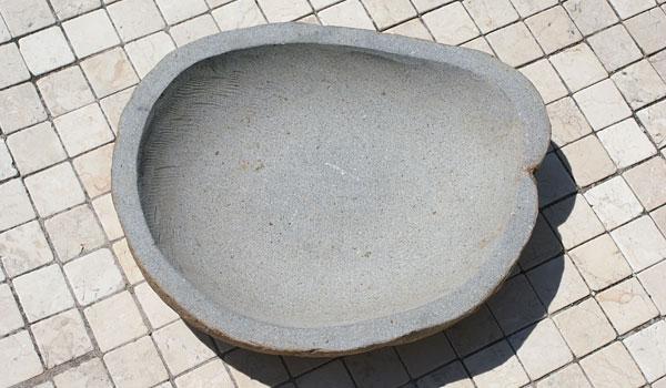 石 手水鉢 ガーデニング