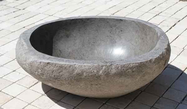 手水鉢 金魚鉢 つくばい