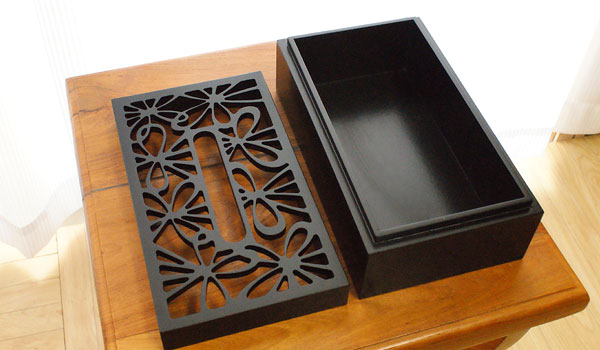 アジアン 雑貨 木製 ティッシュボックス