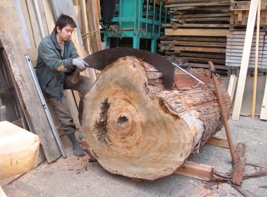 木挽きの林組