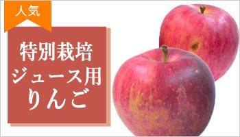 特別栽培ジュース用りんごはこちら