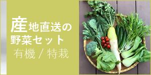 産地直送の野菜セット