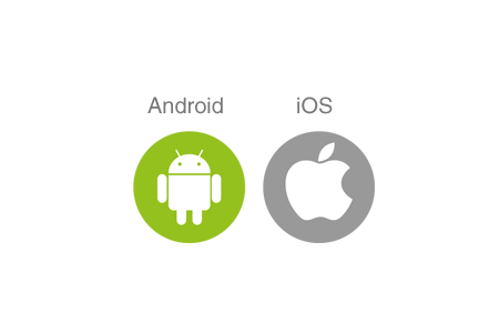 AndroidとiOSに対応