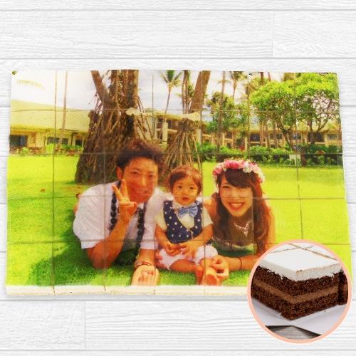 写真シート35ケーキ チョコ