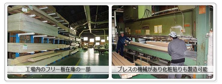 藤井ハウス産業工場の様子