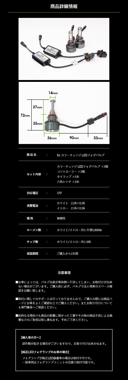 カラーチェンジLEDバルブ 商品詳細